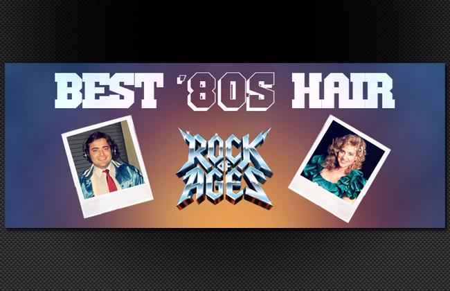 Best '80s Hair page header
