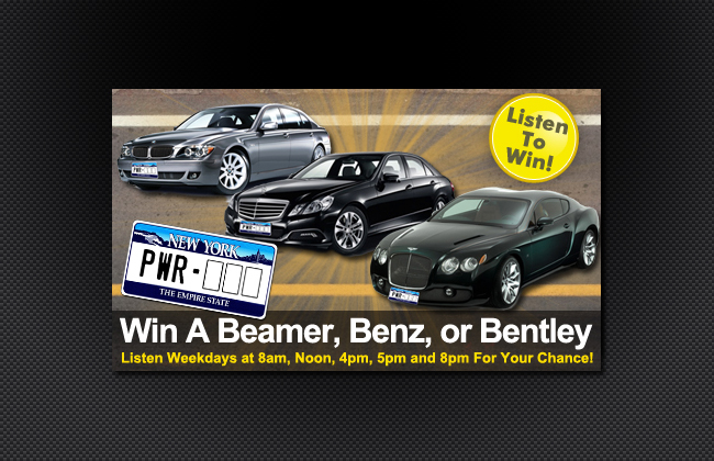 Listen to win one of these cars