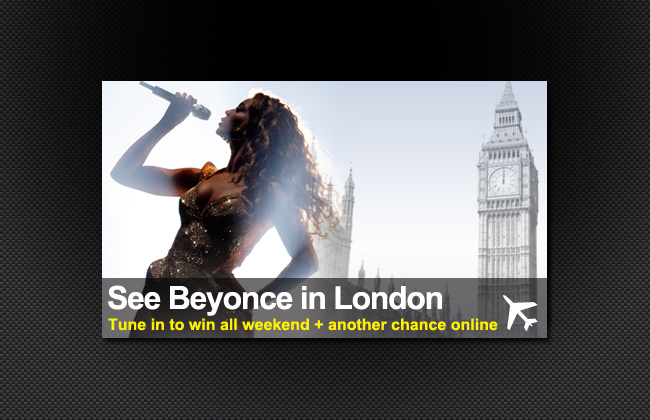 Win a trip to London to see Beyonce