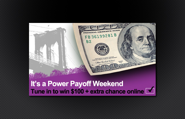 Win $100 from a New York Urban radio station