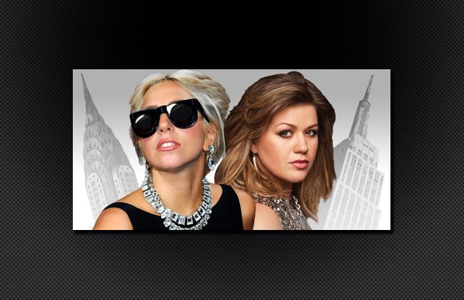 Lady Gaga and Kelly Clarkson - Jingle Ball 2011