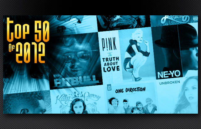 Top 50 Songs of 2012.