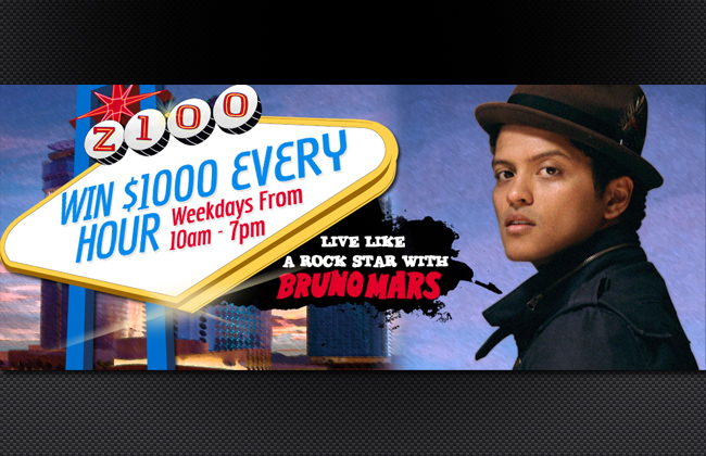 Live Like A Rockstar With Bruno Mars Page Header
