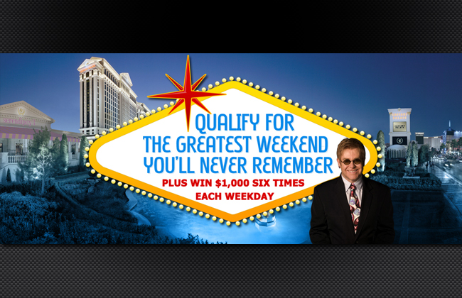 The Greatest Weekend You'll Never Remember Page Header