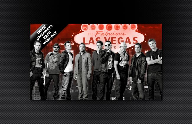 Win a trip to see NKOTBSB in Las Vegas