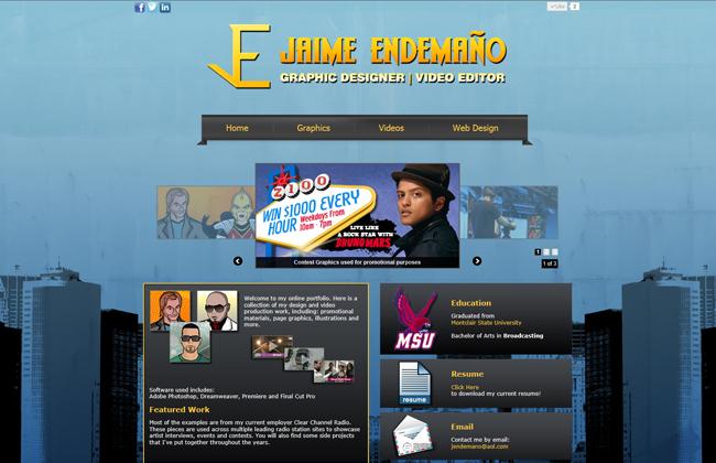 The first look of jaimeendemano.com